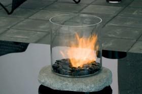 Semineu pe bioetanol pentru exterior (si interior) - Stone - Seminee pe bioetanol pentru exterior (si interior) - PLANIKA