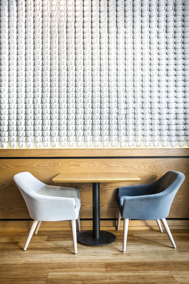 Accente pentru pereti realizate din materiale neasteptate  - Accente pentru pereti realizate din materiale neasteptate