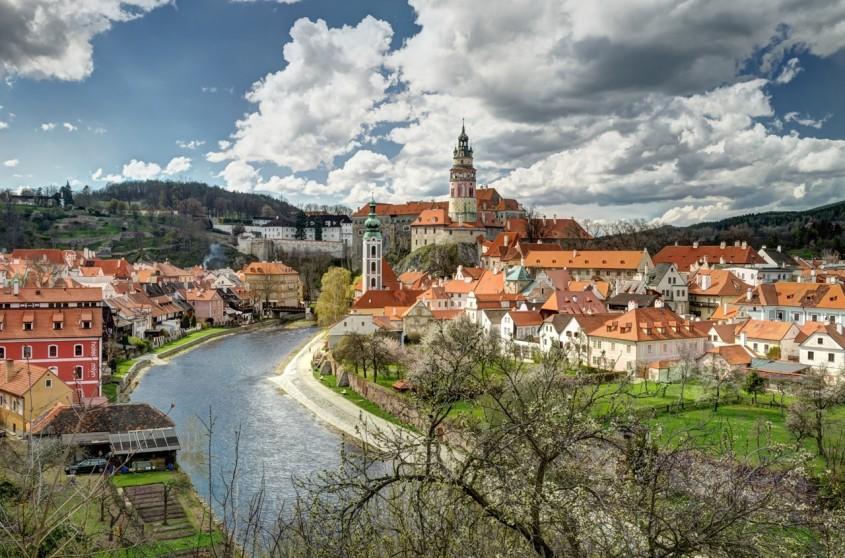 Cesky Krumlov - 10 orase medievale din Europa ce par desprinse din basme