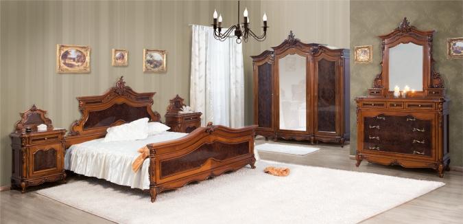 Dormitor Poesis - Mobila de dormitor din lemn masiv: standard sau la comanda?