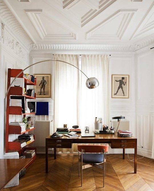 Si tavanele pot fi decorate pentru a pune in valoare spatiul - Si tavanele pot fi