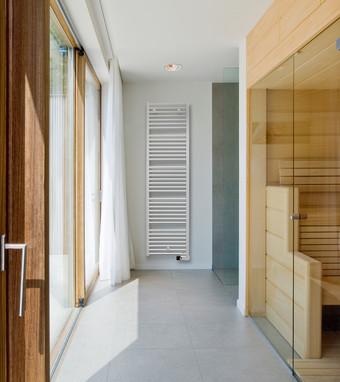 Calorifer electric de baie IRIS HD-EL /IRIS HDR-EL - Calorifere decorative pentru baie
