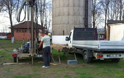 Foraje de mediu piezometre - Foraje de mediu