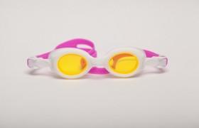 Ochelari de inot pentru copii - Bubbles Pink-White - Ochelari de inot pentru copii - Bubbles