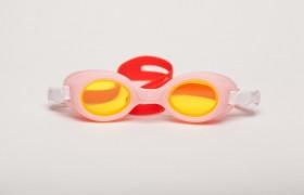 Ochelari de inot pentru copii - Bubbles Red-Pink - Ochelari de inot pentru copii - Bubbles