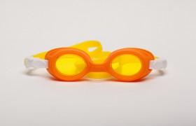 Ochelari de inot pentru copii - Bubbles Yellow-Orange - Ochelari de inot pentru copii - Bubbles