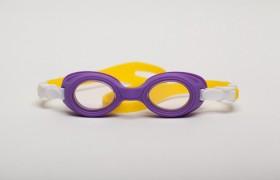 Ochelari de inot pentru copii - Bubbles Yellow-Purple - Ochelari de inot pentru copii - Bubbles