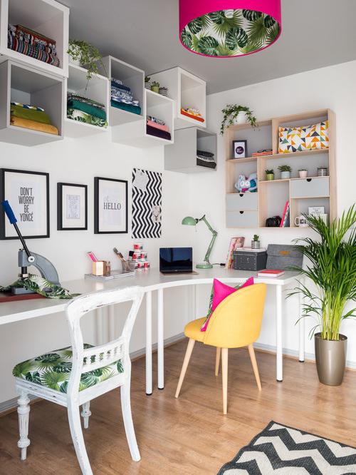 Atat birou cat si atelier de creatie o amenajare bine realizata - Atât birou cât și