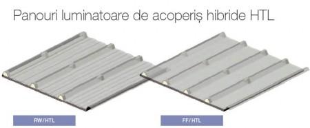 Panouri luminatoare de acoperiş hibride HTL - Accesorii pentru panouri sandwich