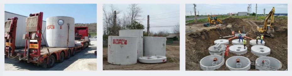 Separator de hidrocarburi din beton - Separatoare de hidrocarburi