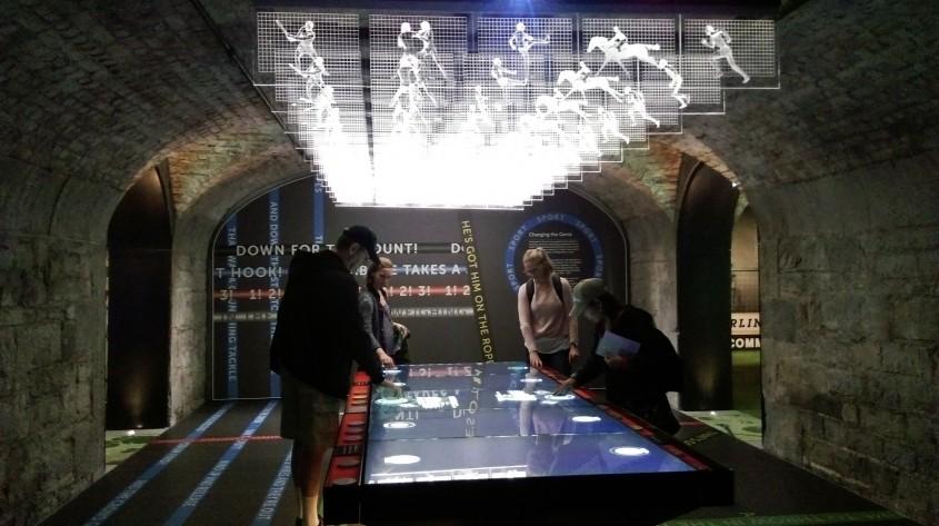 Galeria sportului - Muzeul Emigrației Irlandeze EPIC, un spectacol vizual și interactiv care nu trebuie ratat