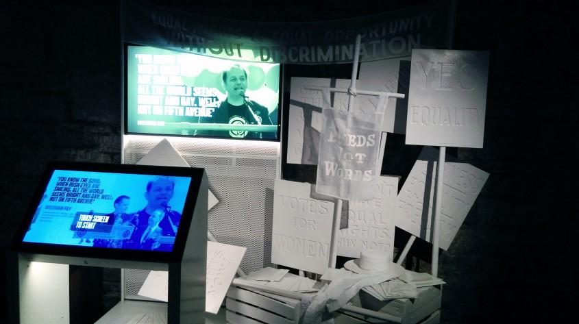 Galeria activismului - Muzeul Emigrației Irlandeze EPIC, un spectacol vizual și interactiv care nu trebuie ratat