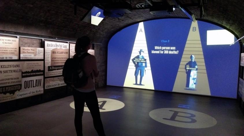 Galeria infractorilor - Muzeul Emigrației Irlandeze EPIC, un spectacol vizual și interactiv care nu trebuie ratat