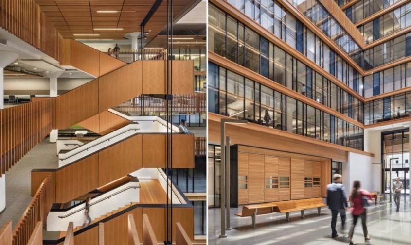 Un vechi depozit din beton este acum spatiu de birouri cu certificare LEED Gold - Un