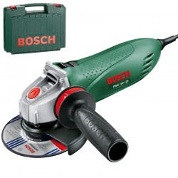 Polizor unghiular 750 W diametru disc 125 Bosch Verde PWS 750-125 AVG - Polizoare unghiulare