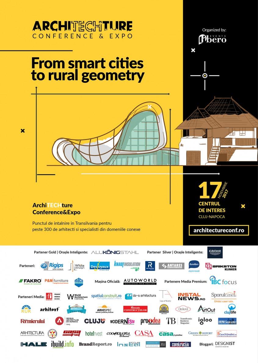 ArchiTECHture Conference & Expo - Proiecte de anvergură și atragerea de fonduri europene la ArchiTECHture Conference