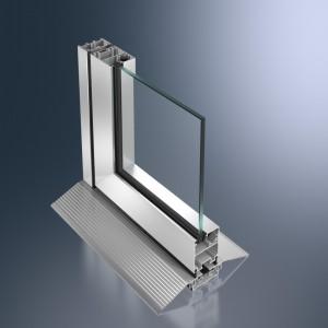 Profil pliant din aluminiu Schüco ASS 50 FD.NI - Profil pliant din aluminiu Schüco ASS 50 FD.NI