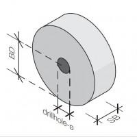 Distantieri pentru carcase piloni forati AROLLE - Distantieri fibrobeton individuali
