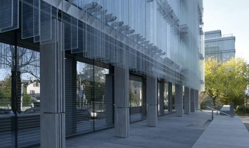 Sediu central al companiei Swiss Societe Privee de Gerance (SPG) - Clădire ventilată natural ce licărește