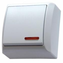 Intrerupator iluminat aplicat IP 20 - Aparataj electric bis