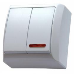 Comutator iluminat aplicat IP 20 - Aparataj electric bis