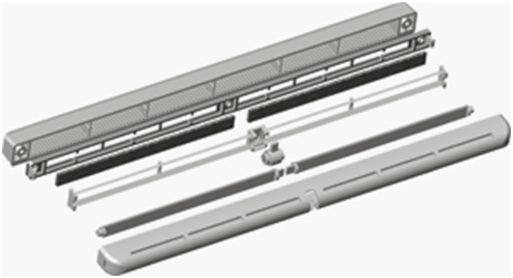 PO400 - grila pentru termopan - PO400 - grila pentru termopan