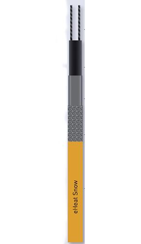 Cablul de incalzire autoreglabil - eHeat Snow - Cabluri autoreglabile pentru instalatii antiinghet
