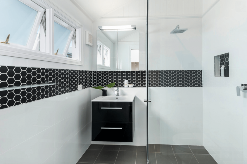 Mozaic din marmura neagra patru exemple de amenajari - Mozaic din marmura neagra patru exemple de