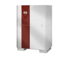 Pompa de caldura Apa Sol de inalta eficienta - Trifazica de 130 kW - SI130TU - Pompe de caldura Apa Sol de inalta eficienta cu doua niveluri de performanta