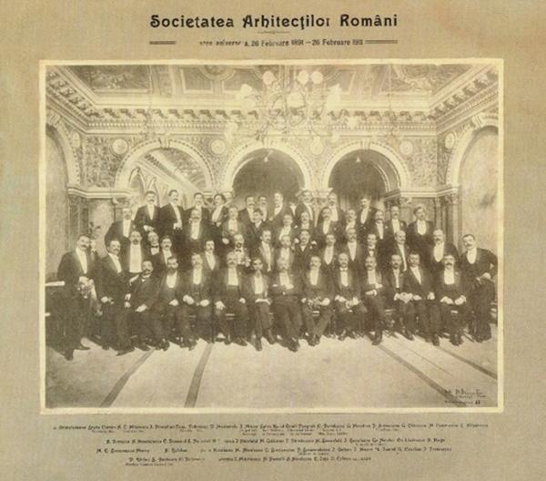 """Simpozionul """"125 de ani de la infiintarea Societatii Arhitecților Romani"""" - Simpozionul """"125 de ani de"""