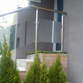Balustrada din sticla laminata - Sticla laminata