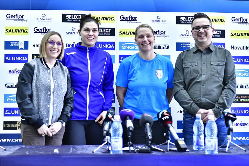 NOVATIK sponsor al echipei de handbal feminin CSM București - NOVATIK sponsor al echipei de handbal