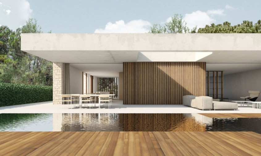 O casa aerisita si spatioasa in armonie cu natura inconjuratoare - O casa aerisita si spatioasa
