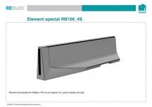 Element de tranzitie RB100_4S - Grupa de produse REBLOC RB100 (inaltime 100 cm)
