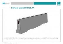 Element special RB100_4A - Grupa de produse REBLOC RB100 (inaltime 100 cm)