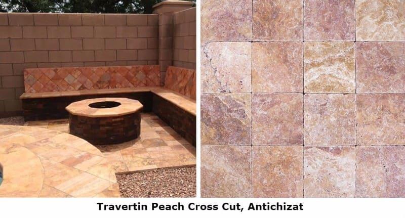 Travertinul Peach, o piatra naturala fabuloasa - Travertinul Peach, o piatră naturală fabuloasă