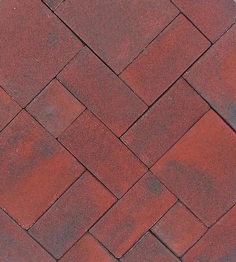 Model de pavaj Retro Pastel Rosu - Model de pavaj Retro Pastel Rosu