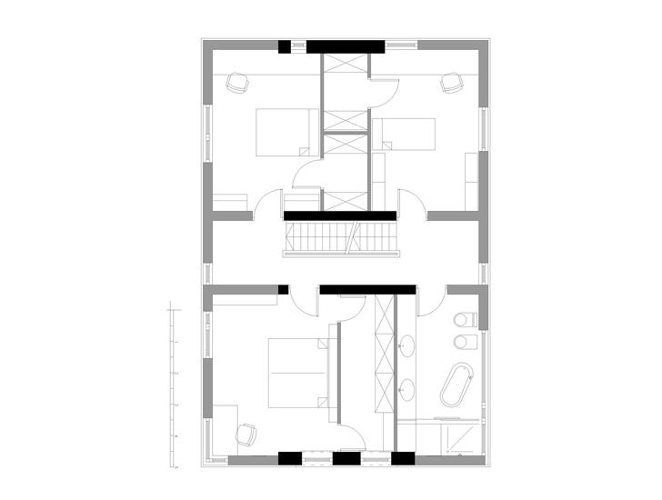 Casa D - Casa D - o mixtura poloneza de arhitectura veche, noua si vegetatie