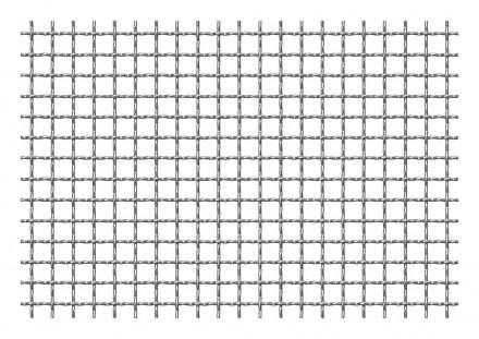 Plasa din sarma ondulata 10x10x2 mm - Plase tesute