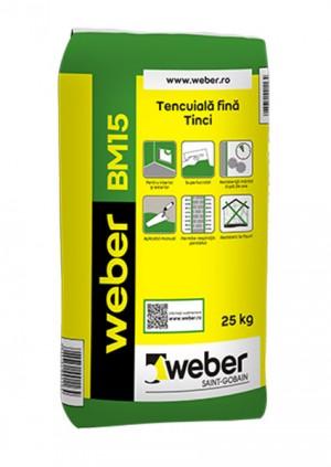 Tencuiala fina / Tinci weber BM15 - Tencuieli de baza