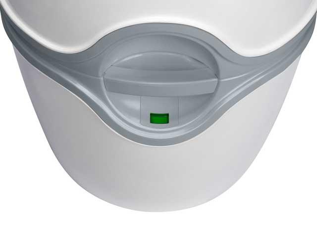 PORTA POTTI EXCELLENCE - indicator de nivel pentru rezervorul de reziduuri - Cum functioneaza toaleta Porta