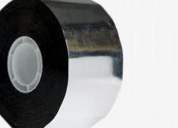 Banda adeziva aluminizata Coroplast 918 - Benzi adezive si garnituri - BANDATECH