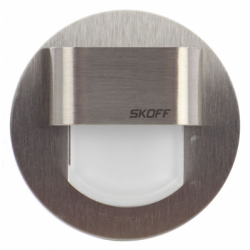 Spot Rueda inox LED alb lumina rece 0,8W - Iluminat iluminat led