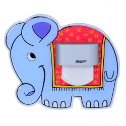 Spot Elefant aluminiu LED alb lumina rece 0,4W - Iluminat iluminat led