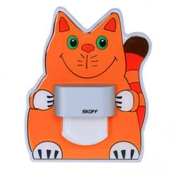 Spot Pisica aluminiu LED alb lumina rece 0,4W - Iluminat iluminat led