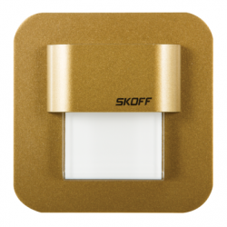 spot Salsa Mini cupru mat LED alb lumina calda 0,4W - Iluminat iluminat led