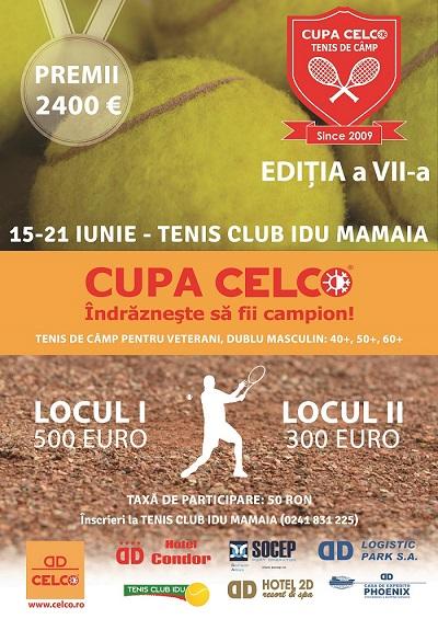 La Mamaia are loc cea de-a VII-a editie a Cupei CELCO de Tenis de Camp pentru