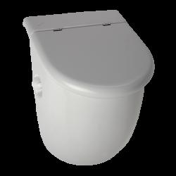 Pisoar Casa cu unitate de spalare cu senzor radar, cu capac - SLP 33RZ - Unitati de spalare automate cu senzor radar pentru pisoare