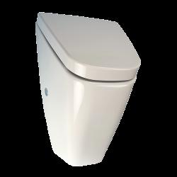 Pisoar Vila cu unitate de spalare cu senzor radar, cu capac - SLP 37R - Unitati de spalare automate cu senzor radar pentru pisoare