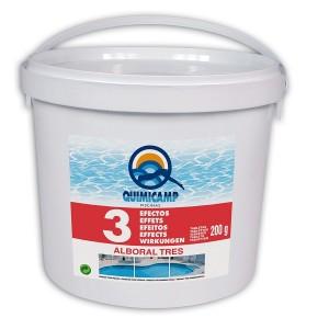 ALBORAL CLOR 3 FUNCTII - Substante pentru tratarea apei din piscine